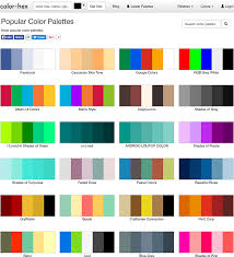 beautiful colors hex 18 tools for ecommerce web designers to create right color