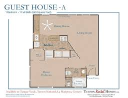 guest house floor plans 1 bedroom 1 bathroom home for rent in tucson