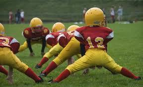 Kids Playing Backyard Football Measurements Of A Little League Football Field Healthfully