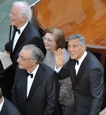 george clooney wedding george clooney s wedding day begins news showbiz