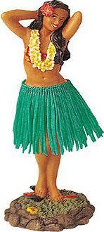 the hula dashboard doll