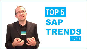 top 5 sap trends in 2017 youtube