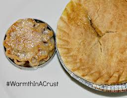 marie calendars thanksgiving apple and caramel pie in a mason jar lid and marie callender u0027s pot