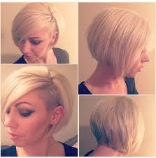 funky asymetrc bob hairsyles asymmetrical undercut women s haircut undercut bob short hair