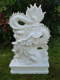 pair marble statue garden sculpture ornament gardensite co uk