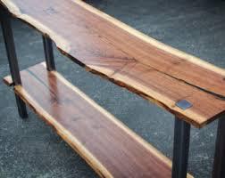 thin sofa table narrow sofa table etsy