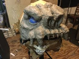master blaster halloween costume step inside jeremy fisher u0027s homemade rancor costume starwars com