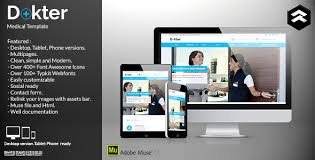 dokter medical muse template by rometheme themeforest
