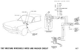 how do the 67 wipers washer work ford mustang forum