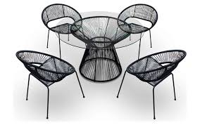 Black Patio Chairs by Black Patio Furniture Sets Ewdinteriors