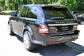 range rover truck black 2012 land rover range rover sport luxury pre owned
