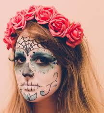 tutorial diy day of the dead makeup