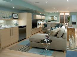 finished basements add space and home value hgtv sophisticated details