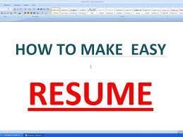 Make A Resume On Word Download Making A Resume On Word Haadyaooverbayresort Com