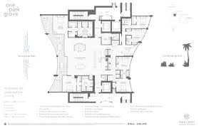 icon brickell floor plans one park grove releases impressive combination unit floor plans