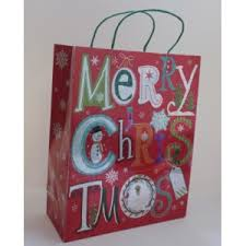 christmas gift bag customizable merry christmas paper bags paper gift bags