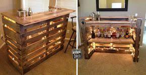 Mini Bar Bureau Foto De Mini Bar En Bois De Palettes Voici 20 Idées Créatives Bar En