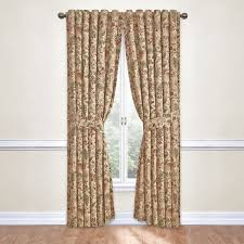 Waverly Curtain Panels Waverly Imperial Dress Rod Pocket Curtain Panel With Tieback