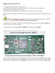 repair autocom cdp vci resistor capacitor