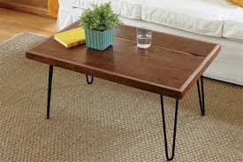 how to build a hairpin leg coffee table hairpin leg coffee table