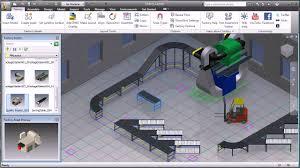 factory layout design autocad autodesk factory design suite youtube
