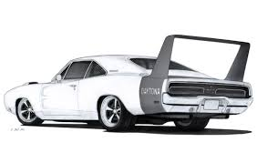 photos muscle car sketches drawing art gallery