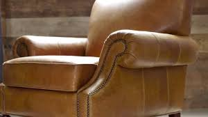 Leather Upholstery Chair Performance Leather Upholstery Pottery Barn Youtube