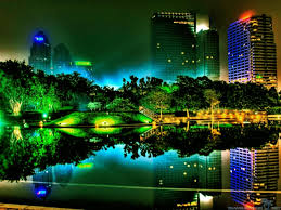 Colorful City Awesome Cities At Night Wallpapers Travelization