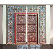 Moroccan Style Curtains Moroccan Curtain Panels