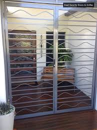 Door Grill Design Door Design Steel Security Gates Metal Door Bars Unique Home