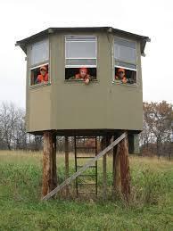 Building A Hunting Blind Diy Deer Blind Free Outdoor Plans Diy Shed Wooden Playhouse