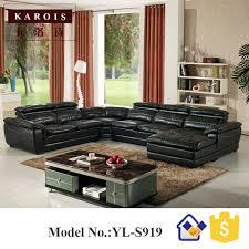 ensemble canap et fauteuil s919factory gros u forme italie canapé en cuir ensemble pour salon