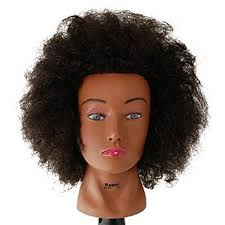 hairstyles to do on manikin amazon com budget naomi afro manikin 20 brown by celebrity