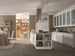 wooden kitchen with island nuovo mondo n01 by scandola mobili