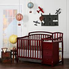 Convertible Crib Sets by On Me Casco 4 In 1 Convertible Mini Crib Set