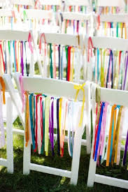 white wedding chairs 50 creative wedding chair decor with fabric and ribbons deer