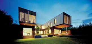 the contemporary side of a victorian house designed by jackson