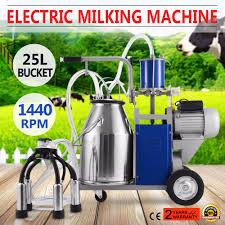 Neue K He Brandneue Elektrische Melkmaschine Für Bauernhof Kühe Eimer 304