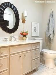 Repaint Bathroom Vanity by Bathroom Vanity Painted With Chalk Paint Chateau Grey Tsc