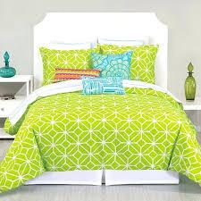 lime green duvet cover lime green black dot stripe teen bedding