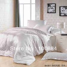 White Silk Bedding Sets White Silk Bedding Set 30 Silk 70 Fiber 4pc Bedding Sets