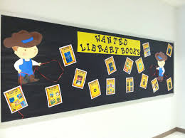 end of year return your books library bulletin board