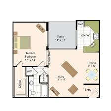 1 Bedroom Floor Plans by Floor Plans Memorial Creole Luxury Apartment Living In West