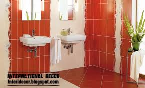 this modern red wall tile designs ideas for bathroom read now