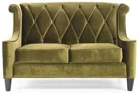 Love Seat Sofa by A Modern Green Velvet Loveseat