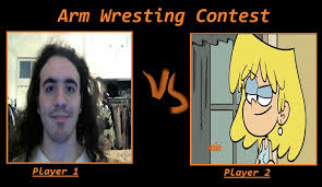 Lori Meme - andy vs lori arm wrestling contest meme by carriejokerbates on