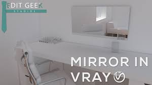 vray sketchup easy mirror tutorial furniture pinterest