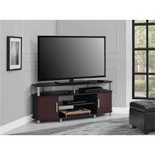 ameriwood furniture carson corner tv stand for tvs up to 50