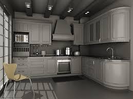 small kitchen units design 3d model 3dsmax files free download