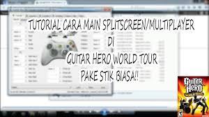 cara bermain gitar hero 3 di pc guitar hero world tour tutorial main multiplayer pake joystick
